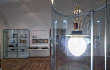 Konstrukce repliky obloukové lampy pro Regionální muzeum v Litomyšli – červenec 2014