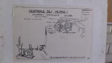1. Schéma elektrárny ve Vernes