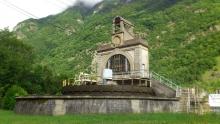 2. Pohled na elektrárnu ve Vernes