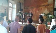 Přijetí účastníků kongresu ICOLSE15 u starosty Toulouse