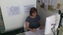 4.M. Efmertová při zahájení webkonference