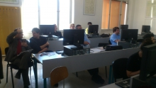 Workshop se studenty ze Sorbonny na FEL2