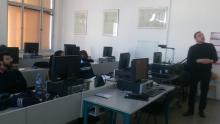Workshop se studenty ze Sorbonny na FEL3