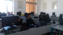 Workshop se studenty ze Sorbonny na FEL4